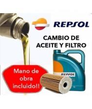 Cambio Aceite y Filtro...