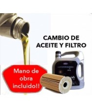 Cambio Aceite y Filtro FORD...