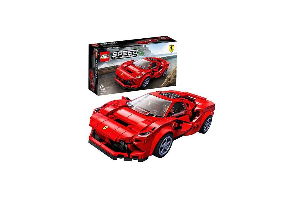 El Ferrari F8 Tributo es el Lego que estabas esperando
